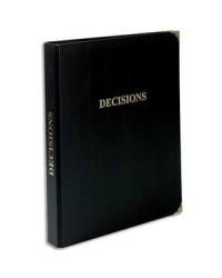 Exacompta Reliure juridique, Classeur décisions, 4 anneaux avec recharge 100F 4615E