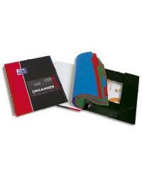 Oxford ORGANISERBOOK A4+ 160 pages grands carreaux SEYES + TRIEUR EN FIN 400019523