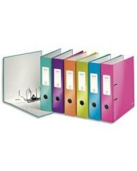Leitz classuer à levier 180° dos 8 cm WOW couleurs assorties 10051099