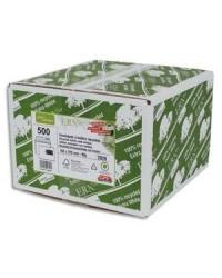 GPV boite 500 enveloppes blanches 80G recyclées C5 162X229 Fenêtre 45x100 2826