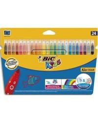 Bic étui 24 feutres de coloriage kid couleur 841800
