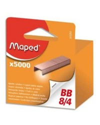 Maped boîte de 5000 agrafes bébé 8/4 blister 325202