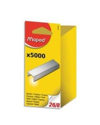 Maped boite de 5000 agrafes 26/8 en blister 324502