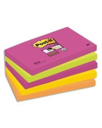 Post it lot 5 blocs notes STICKY NEON 76X127 ASS 85364