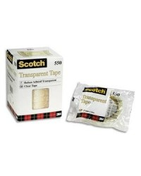 Scotch Ruban adhésif 550, Transparent, 19mm x 66m, 23210