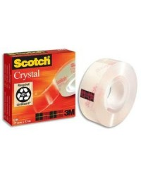 Scotch Ruban adhésif crystal clear 600, 19mm x 33m, 23202