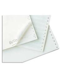Exacompta boite 2000 feuilles de listing blanc 240x11 1 Pli Bandes Caroll Détachables 70G 65511E