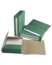 Extendos Dossier d'archives 1240, 70mm, 3 rabats, Recyclé, Vert, 12.40