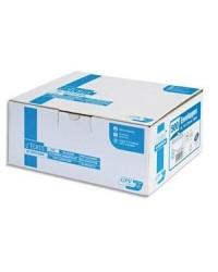 GPV Boite 500 enveloppes blanches DL 110x220 90G auto adhésives NF PEFC 2886