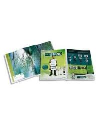 Tarifold sachet 12 pochettes de présentation double A4/A3 incolore 511000