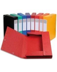 Exacompta boite de classement en carte dos 5 cm CARTOBOX couleurs assorties 19500H