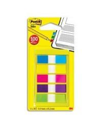 Post it Marque pages MINI, 5x20 Index, 5 couleurs, 683-5CBEU / 70071501947 / L1249