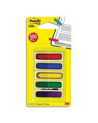 Post it Marque pages, Index flèche, 5 couleurs, 684-ARR1 / 70071501954 / L1251