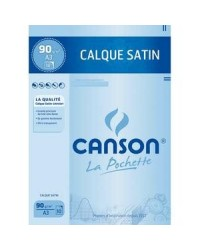 Canson étui 10F papier calque A3 90G 200017153