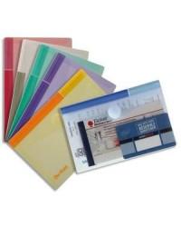 Tarifold Pochette de protection, en PP, format A6, assorti, 510289