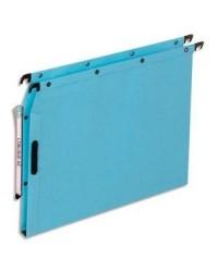 Elba l'oblique, Dossiers suspendus velcro, Armoire, Fond 15mm, Kraft, Bleu, 100330525