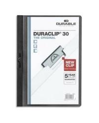 Durable chemise de présentation à clip DURACLIP 30 NOIR 2200-01