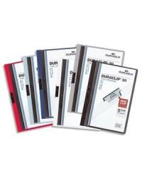Durable Chemise de présentation à clip, DURACLIP 30, Assorti, Paquet de 25, 2200-00