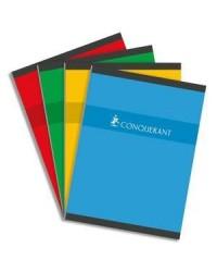 Conquerant Cahier 24x32, Grands carreaux séyès, Brochure 192 pages, 100101991