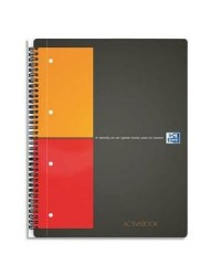Oxford cahier spirale A4+ ACTIVEBOOK petits carreaux 5X5 100104329