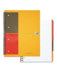 Oxford Cahier A4+, FILINGBOOK, Quadrillé 5x5, 200 pages petits carreaux, 100100739