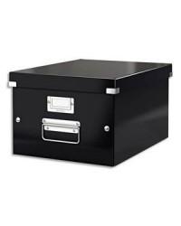 LEITZ Boîte de rangement Click & Store WOW, A4, noir, 60440095