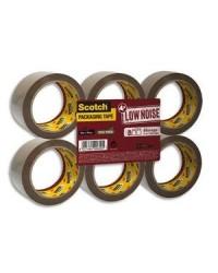 Scotch Ruban adhésif emballage, PP, Low Noise, 50 mm x 66m, Havane, 50 Microns, BP625