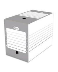 Elba boites archives fond automatique dos 20 cm gris 400064977