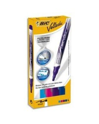 BIC Etui 4 feutres velleda liquid ink 4.5MM 927157