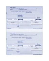 Elve paquet 200 lettres de change en continu A4 21X29.7 2 TRAITE 519