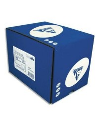 Clairefontaine boite 250 enveloppes blanches CLAIRALFA DL 110X220 90G auto adhésive 1600C