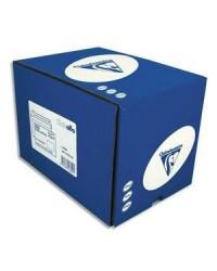 Clairefontaine boite 250 enveloppes blanches CLAIRALFA DL 110X220 fenêtre 35x100 90G auto adhésive 1601C