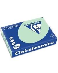 Clairefontaine ramette 250F papier A4 TROPHEE 160G VERT 2635C