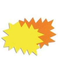 Apli Agipa paquet 50 carton signalisation fluo éclaté 12X16 écriture permanente 16950