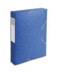 Exacompta boite de classement dos 60MM BLEU CARTOBOX 16005H