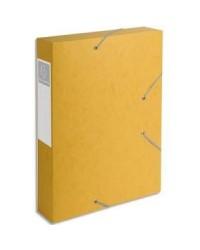 Exacompta boite de classement dos 60MM JAUNE CARTOBOX 16006H
