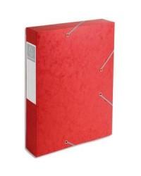 Exacompta boite de classement dos 60MM ROUGE CARTOBOX 16009H