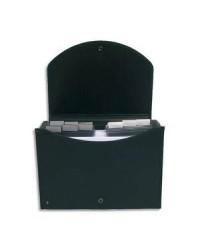 Exacompta trieur valisette polypro noir 13 compartiments EXACASE 55934E