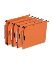 Elba Dossiers suspendus, Velcro, Armoire, Fond 15mm, Kraft, Orange, Ultimate, 100330541