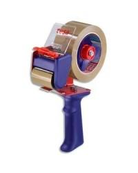 Tesa dévidoir métal avec frein pour ruban adhésif 66M et 100M 6300