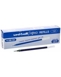 Uni-ball UMR10 B Recharge pour UM153 Broad Bleu