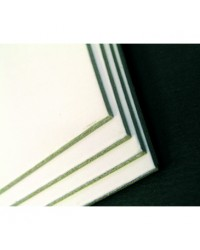 Clairefontaine Etui 10F carton 600G 50X65 Blanc Gris 93990C