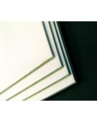 Clairefontaine, Feuille de carton, mi fin, 500 x 650 mm, 600 g, Blanc, Gris, 93990C