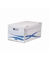 Bankers Box Conteneur, Caisse a archives, Basic, Couvercle, Carton recyclé, 4460502