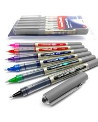 Uni ball étui 5 stylos roller EYE assortis UB157/5 ASS02