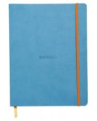 Rhodia carnet A5 160 pages ligné TURQUOISE 117407