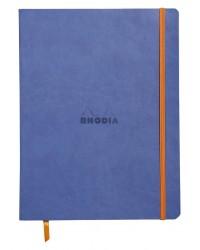 Rhodia Carnet souple, A5 148x210mm, Rhodiarama, 160 pages, Ligné, Saphir, 117408