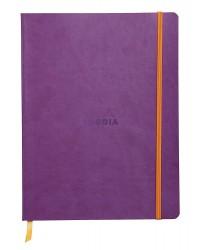 Rhodia Carnet souple, A5 148x210mm, Rhodiarama, 160 pages, Ligné, Violet, 117410