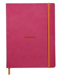 Rhodia carnet A5 160 pages ligné FRAMBOISE 117412