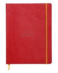Rhodia Carnet souple, A5 148x210mm, Rhodiarama, 160 pages, Ligné, Coquelicot, 117413